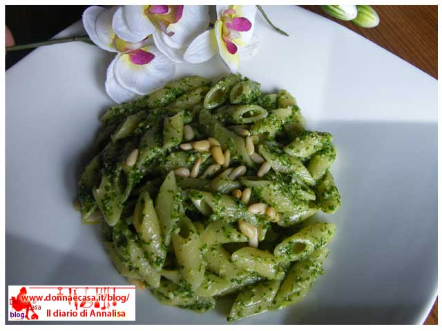 Pasta with arugula pesto image 3