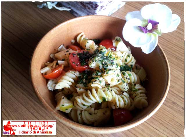 Pasta salad with celery image 2