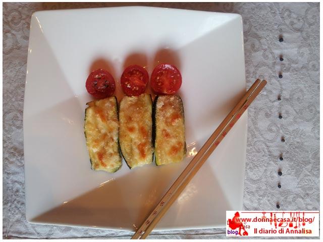 zucchine semplici ripiene