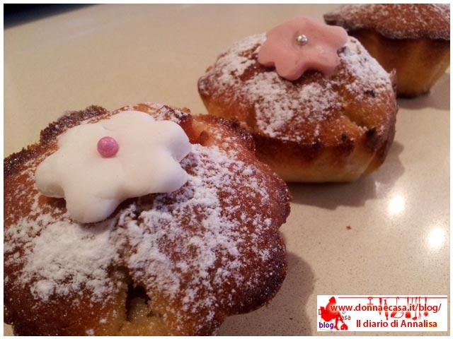 muffins alla frutta in diagonale
