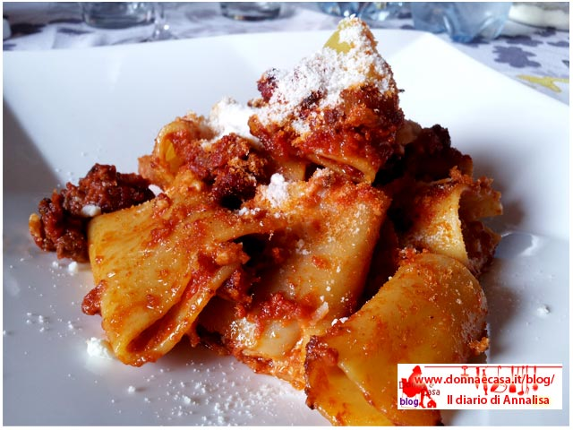 Oven-baked paccheri a type of italian pasta image 2