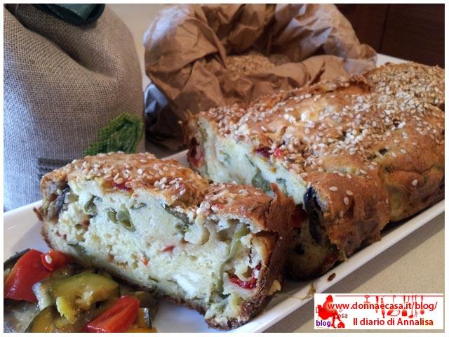 plumcake di verdure foto 3