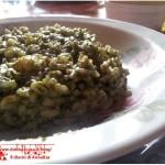 Risotto spinaci e taleggio