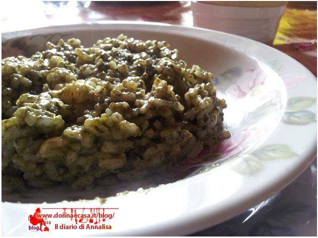 risotto taleggio spinaci