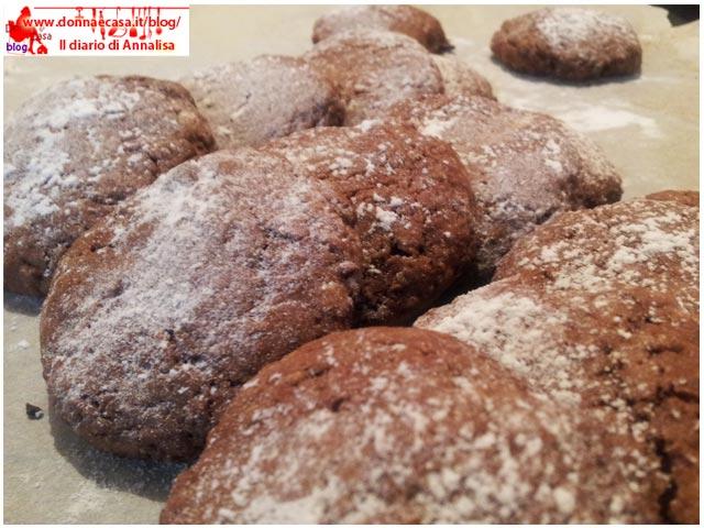 biscotti morbidi alla nutella spianati