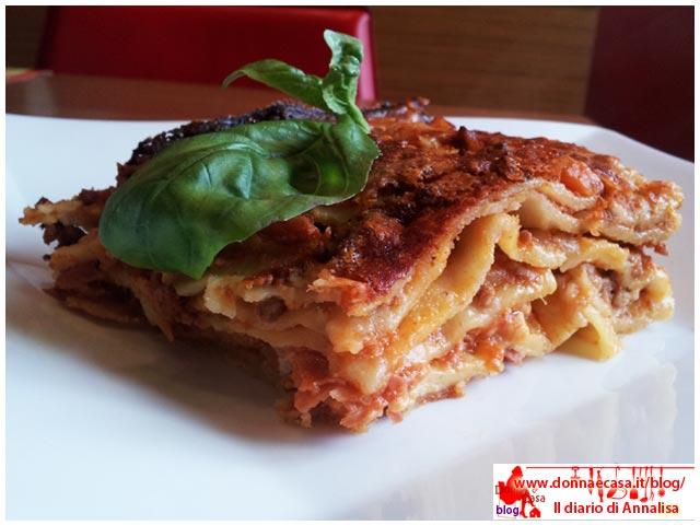 lasagne classiche impiattate