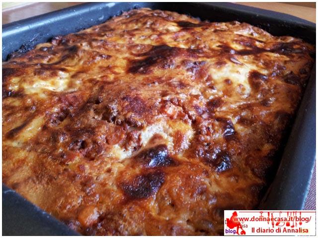 lasagne classiche in teglia