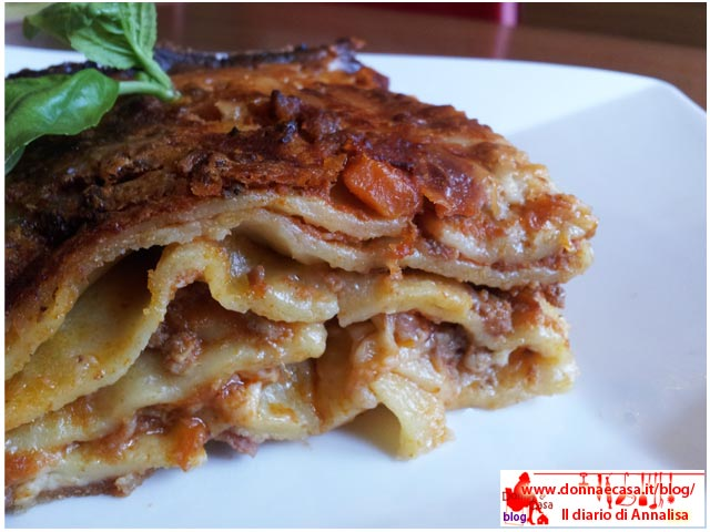 lLasagna with homemade pasta