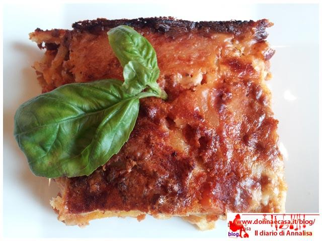 lasagne classiche pasta fatta in casa dall alto