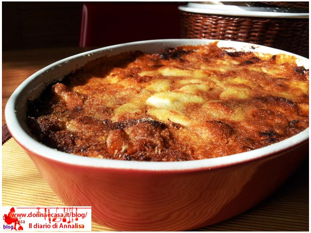 cornmeal mush Lasagna