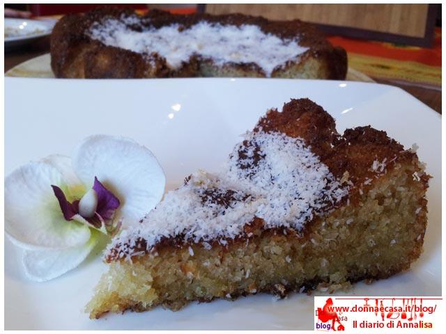 torta al cocco fetta