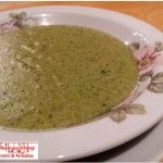 Vellutata spinaci e zucchine