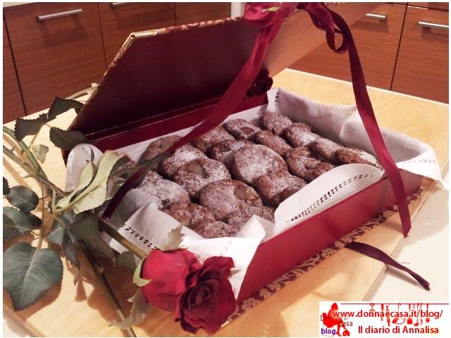 biscotti cacao pera in scatola
