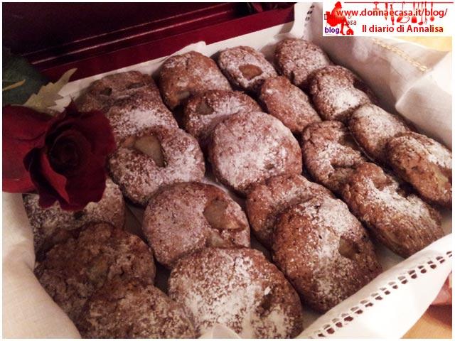biscotti cacao pera presentazione