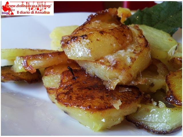 patate gratinate con pecorino particolare