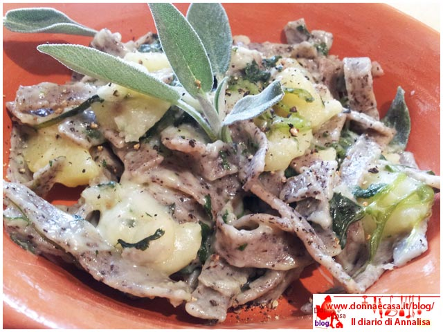 pizzoccheri light piatto