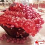 Fashion cupcake with yogurt and chocolate