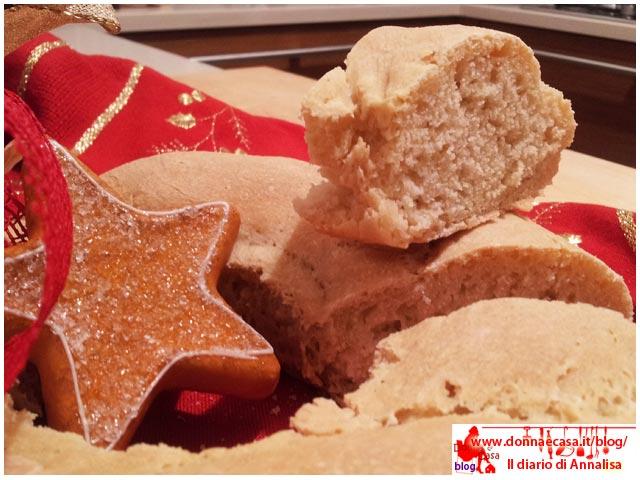 ghirlanda di pane con fetta
