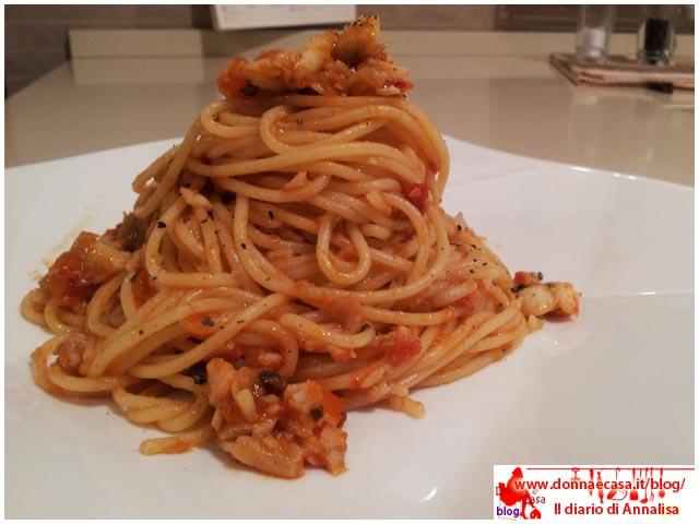 spaghetti ragu platessa