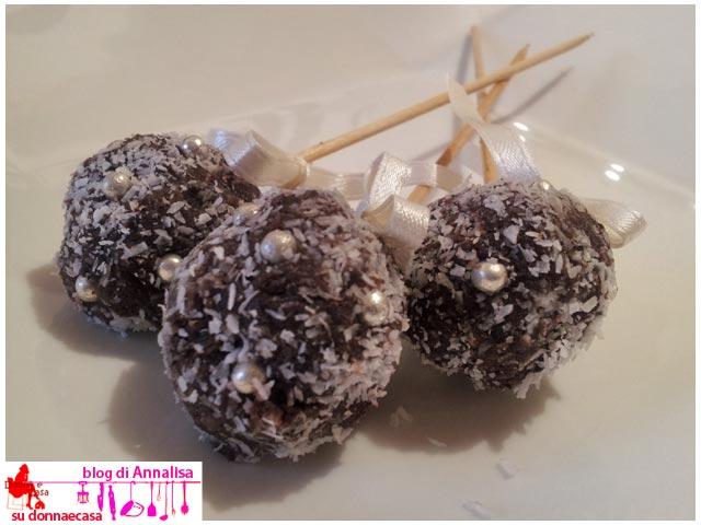cake pops cocco cacao tris