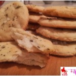 Small flatbread with herbs