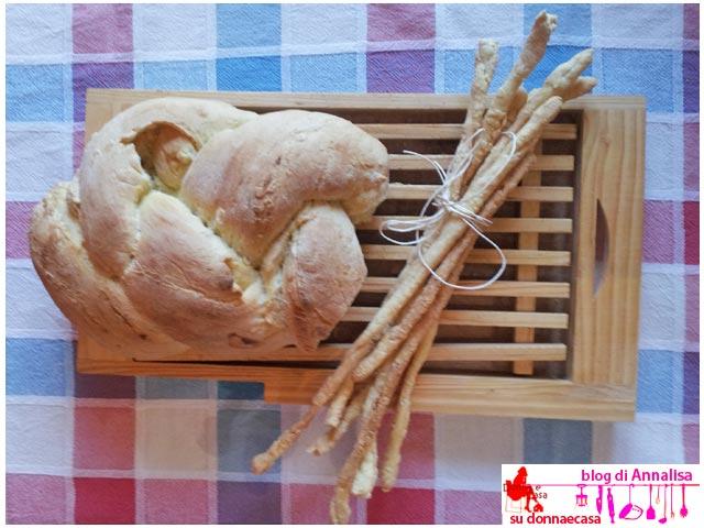 grissini fatti in casa con pane