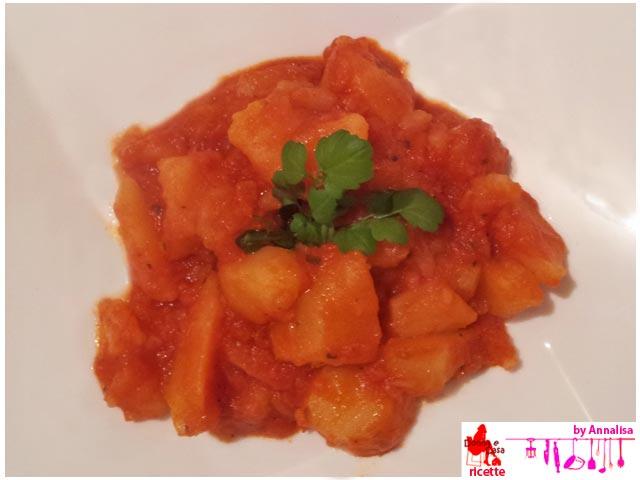 patate al pomodoro piatto
