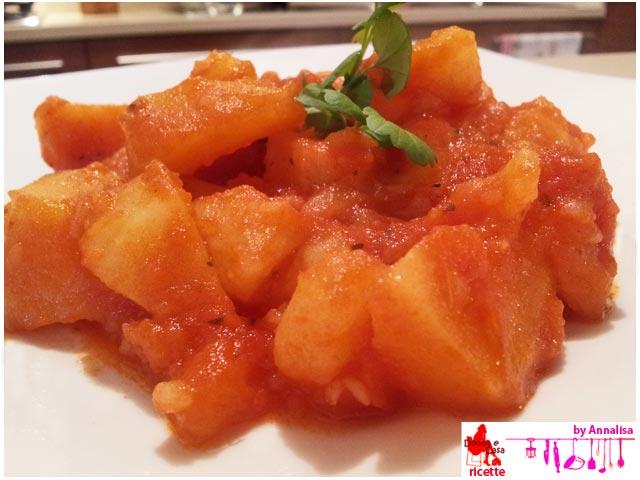 patate al pomodoro presentazione