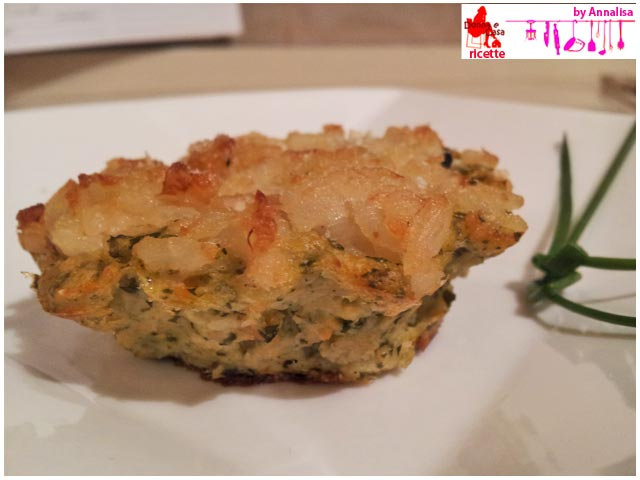 Vegetable pies baked with rice sinlge