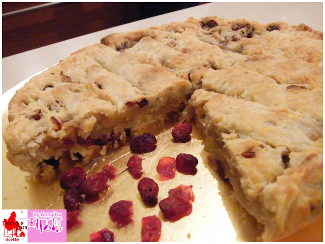 Apple Pie with red fruits  photo 2