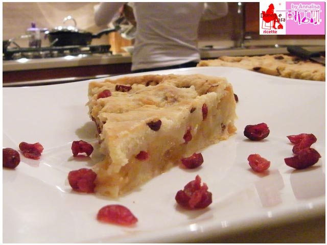 Apple Pie with red fruits photo 4