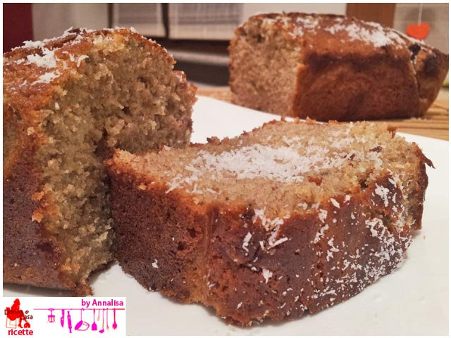 banana bread integrale fetta