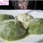 Canederli with spinach