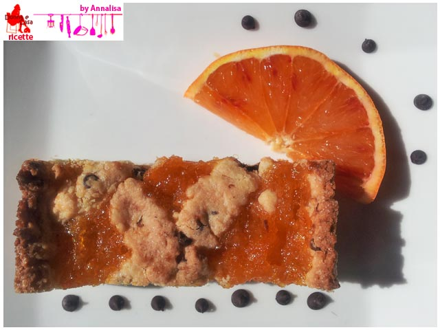 Tart with homemade orange marmalade foto4