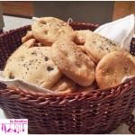 Focaccine di pan mozzarella al farro