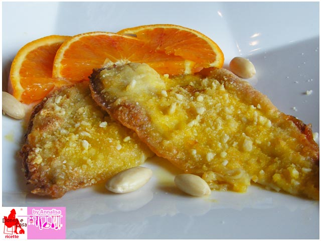 Sole orange and almonds photo 4