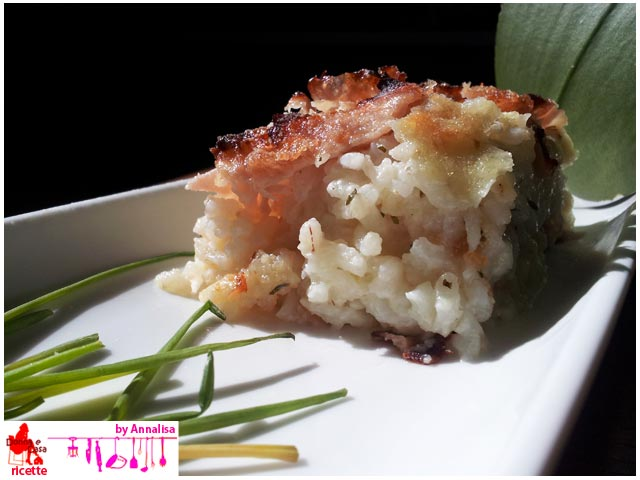 Ham and cheese timbale of rice image 3