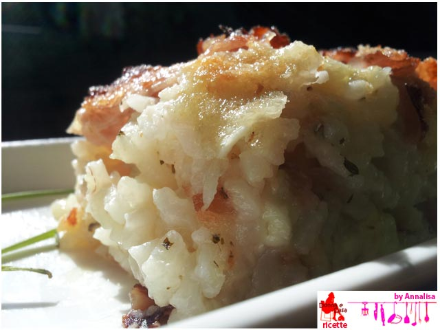 Ham and cheese timbale of rice image 1