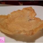 Cestino in crosta di formaggio