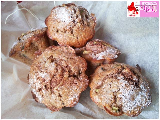 muffin dolce alle zucchine