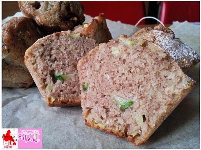 muffin dolce alle zucchine photo 3