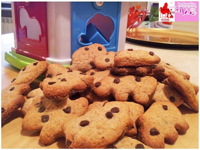 biscotti integrali gocce cioccolato