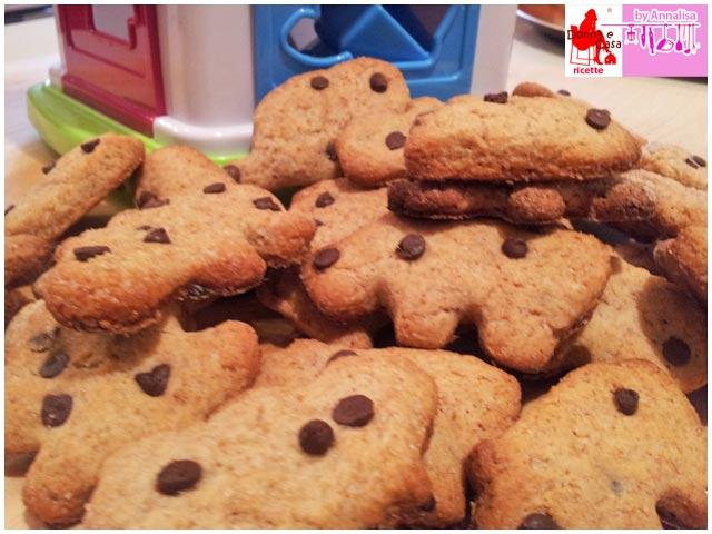 biscotti integrali gocce cioccolato photo 2