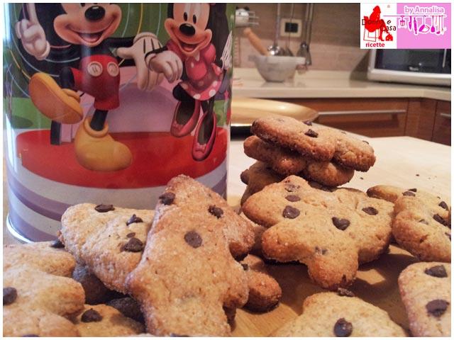 biscotti integrali gocce cioccolato photo 3