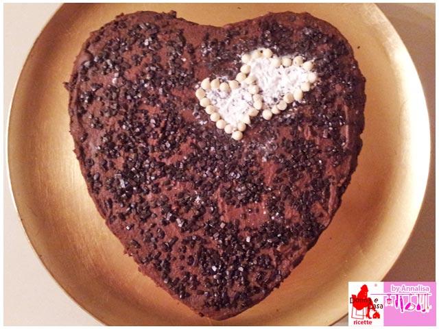 cuore di mamma ricoperto di cioccolato
