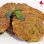 Miniburger di  piselli e patate (ricetta senza uova)