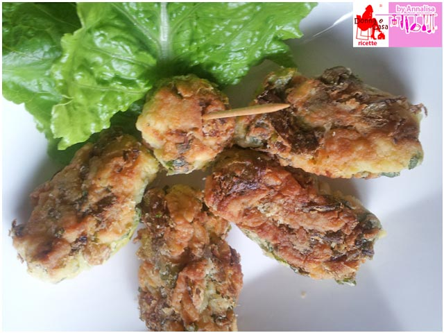 Rice and lettuce croquettes photo 2