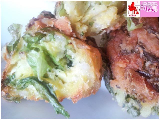 Rice and lettuce croquettes photo 4