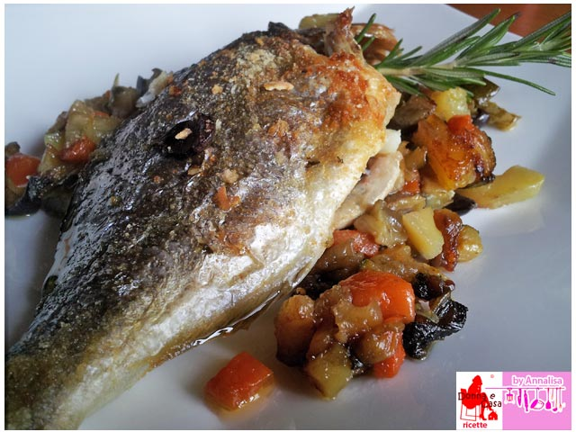 Sea bream baked photo 3
