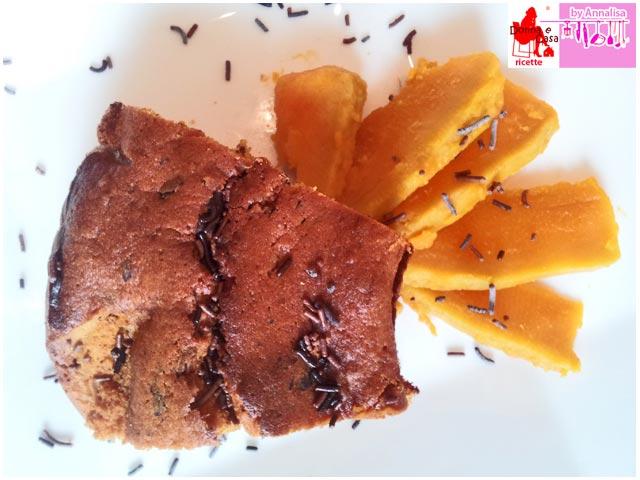 ciambella zucca cioccolato img. 2